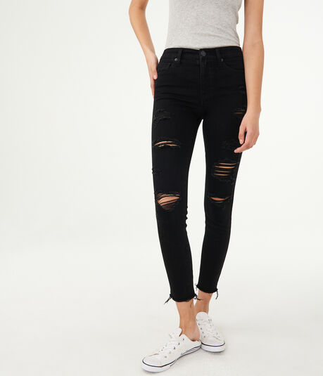 Seriously Stretchy High-Waisted Ankle Jegging