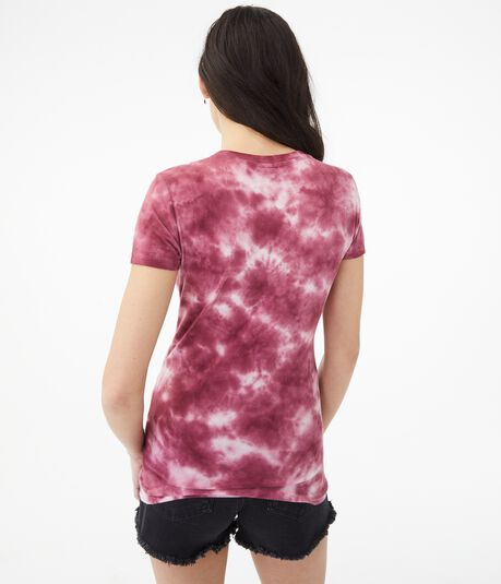 Tie-Dye Butterfly Graphic Tee