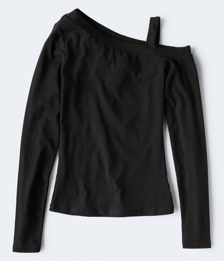 Long Sleeve Seriously Soft One-Shoulder Bodycon Top