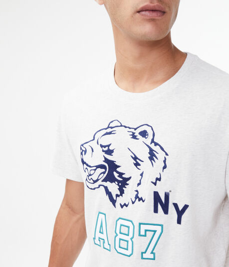 A87 Grizzly Bear Graphic Tee