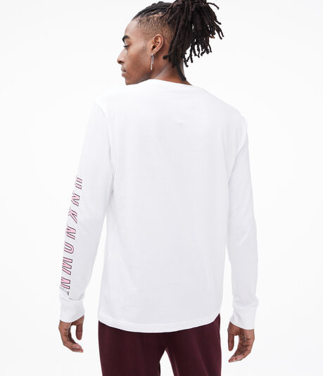 Long Sleeve Unknown Destination Graphic Tee
