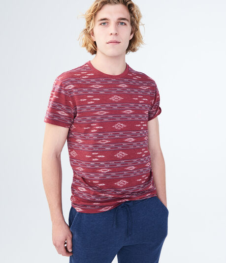 Jacquard Graphic Tee