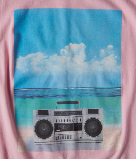 Boombox Beach Graphic Tee