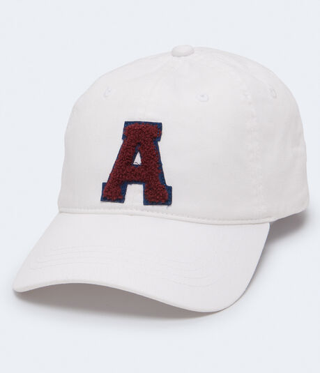 Chenille Letter Logo Adjustable Hat