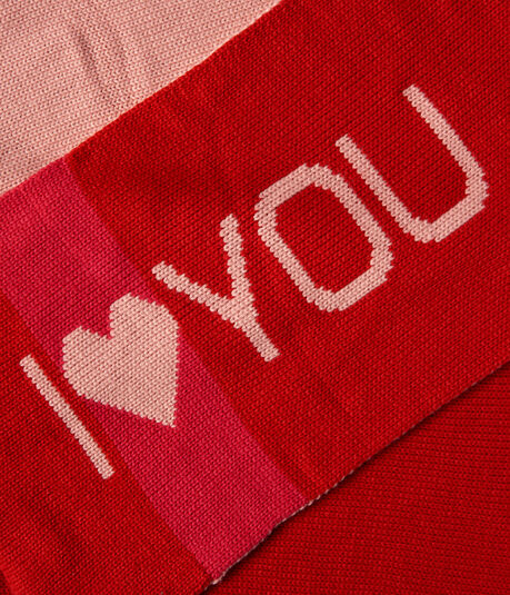 I Heart You Knit Scarf