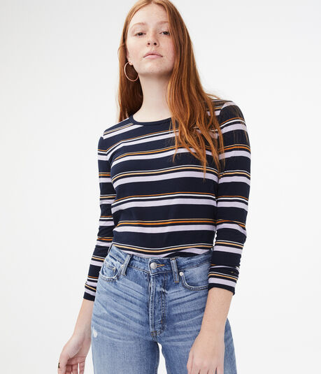 Seriously Soft Striped Top