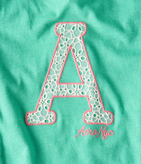 "Lacey ""A"" Aero Graphic Tee"