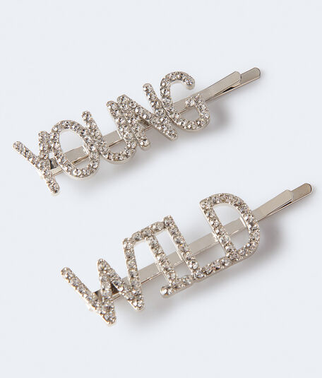 Young & Wild Hair Slide 2-Pack
