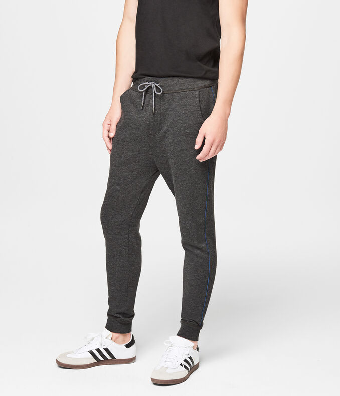 Men's Heathered Jogger Sweatpants