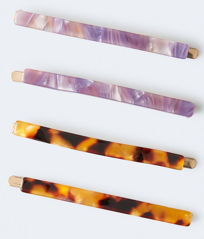 Color Swirl Hair Slide 4-Pack