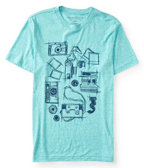 Camera Sketches Graphic Tee