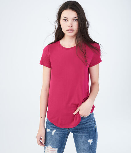 Seriously Soft Solid Crew Tee