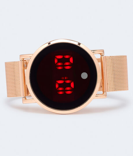 Digital Watch With Two Straps