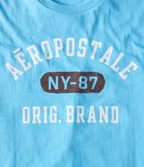 Distressed Aeropostale Orig. Brand Graphic Tee