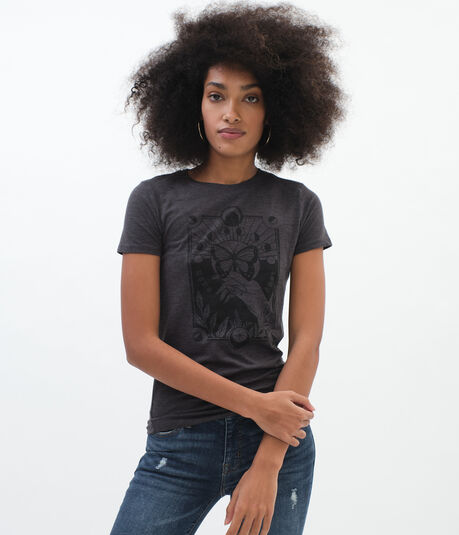 Butterfly Tarot Card Graphic Tee