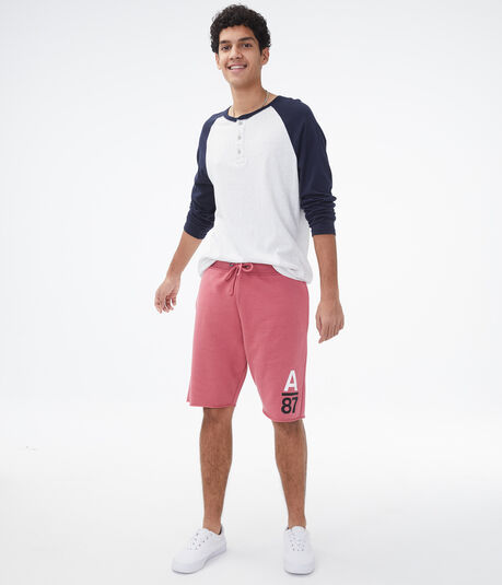 A87 Logo Fleece Shorts