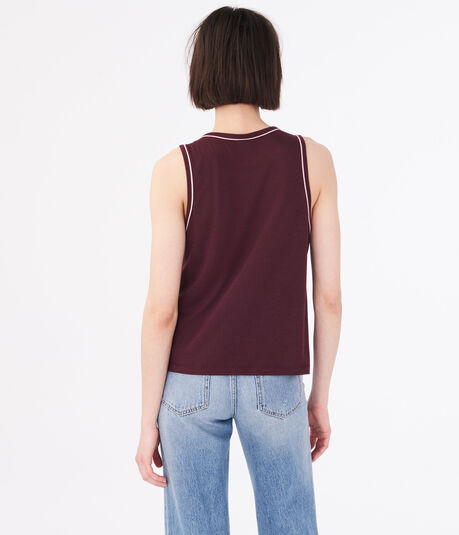 Piped Muscle Tank