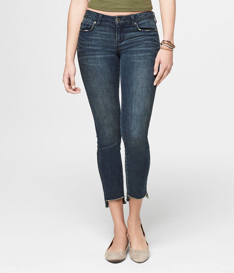 Seriously Stretchy Repreve Low-Rise Ankle Jegging
