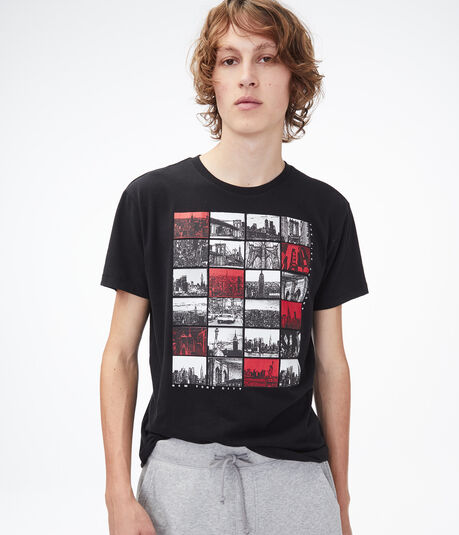 NYC Collage Graphic Tee