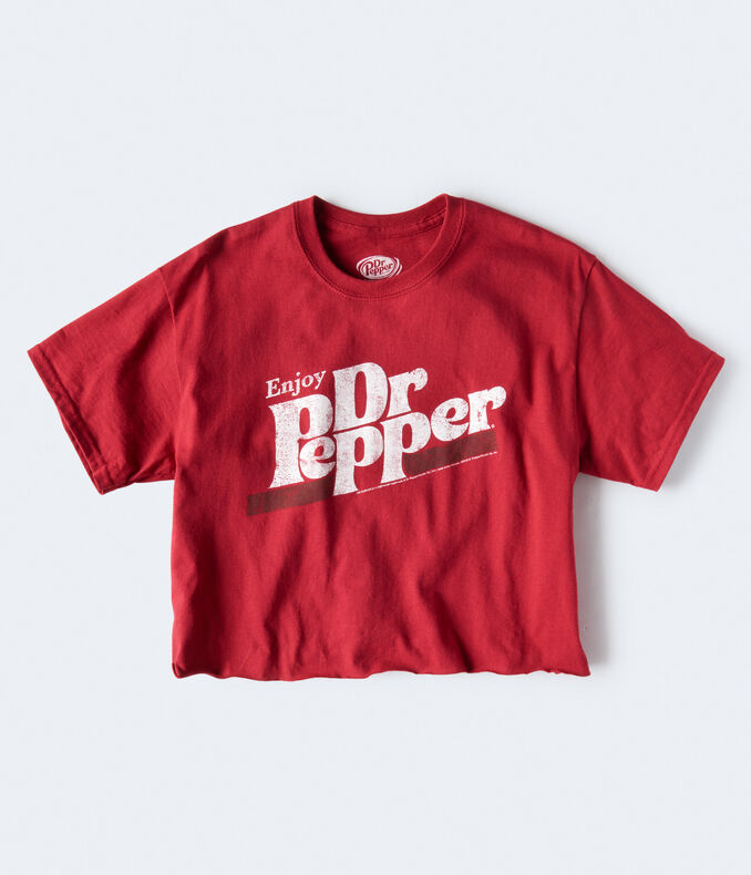 Dr Pepper Crop Graphic Tee