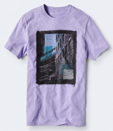 City Typography Graphic Tee
