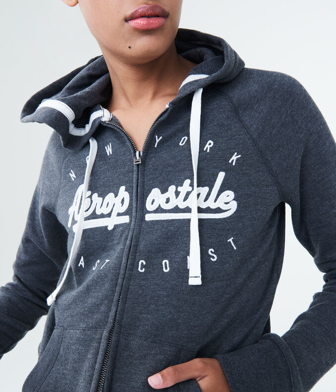 New York Aeropostale Full-Zip Hoodie