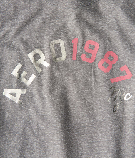 Long Sleeve Aero 1987 NYC Graphic Tee