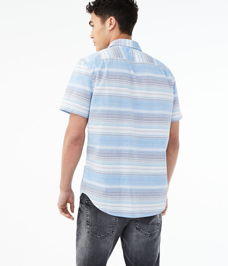 Horizon Stripe Button-Down Shirt