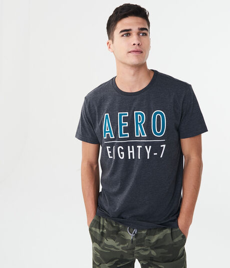 Aero Eighty-7 Logo Graphic Tee