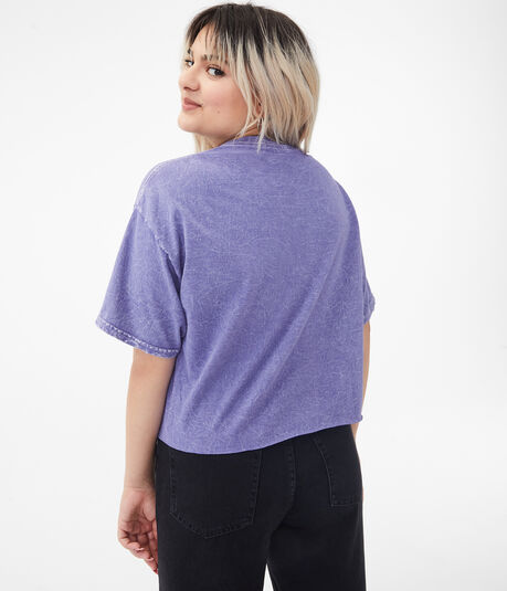 Poetic Justice Cropped Graphic Tee