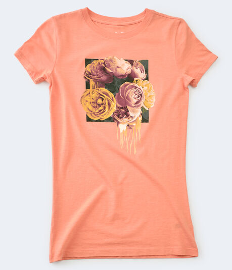 Free State Dripping Flowers Graphic Tee