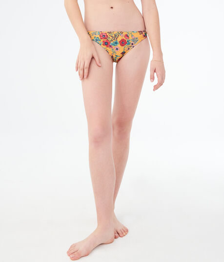 LLD Fancy Floral Bikini Bottom