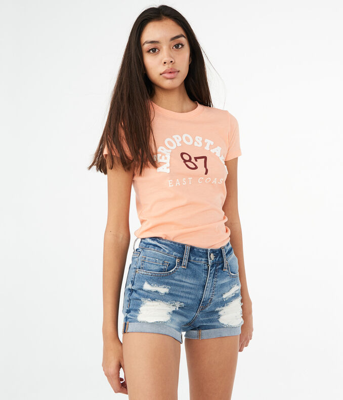 Aeropostale 87 East Coast Graphic Tee