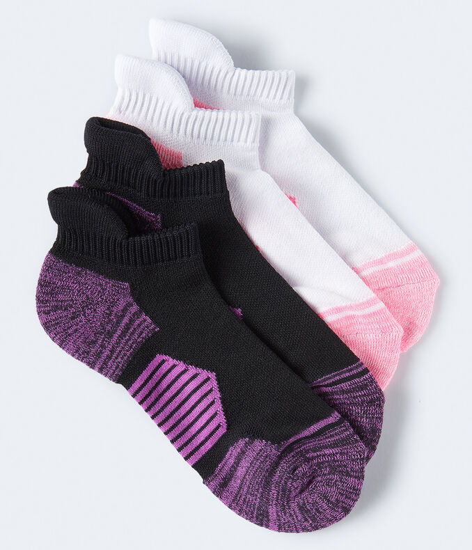 2-Pack Colorblocked Athletic Socks