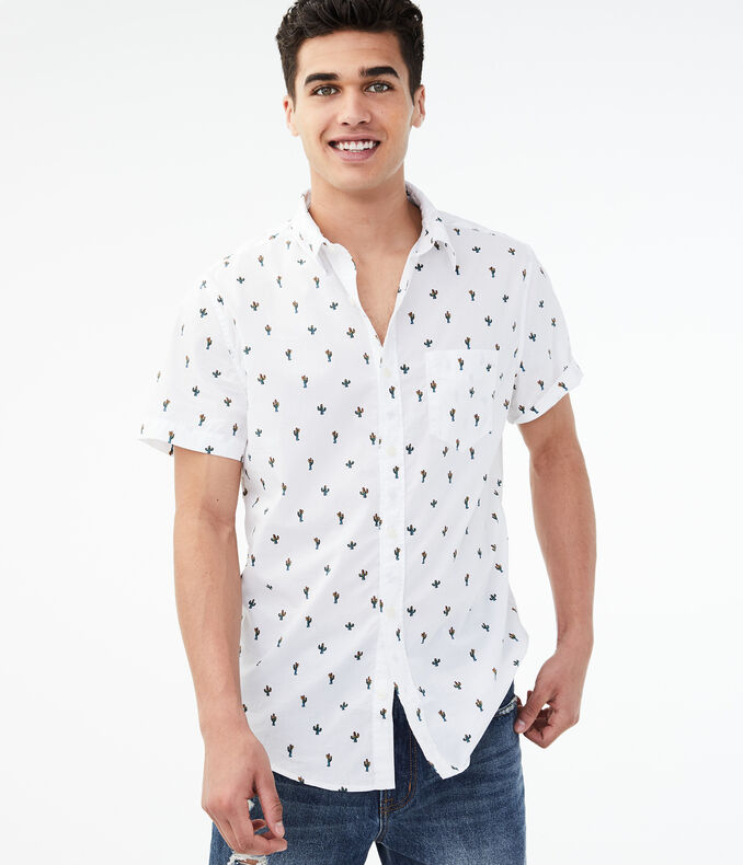 Cactus Button-Down Shirt