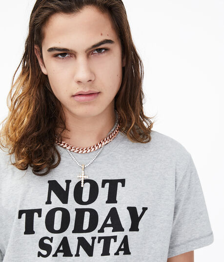 Not Today Santa Graphic Tee