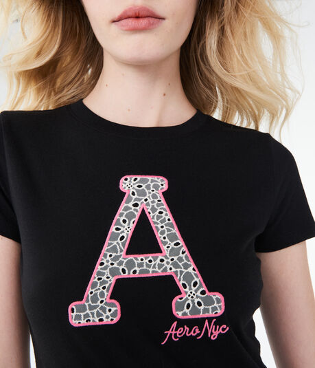 """Lacey """"A"""" Aero Graphic Tee"""