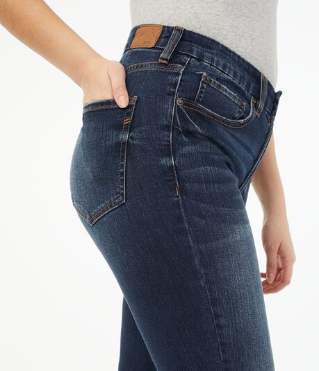 Seriously Stretchy High-Rise Slim & Thick Curvy Bootcut Jean***