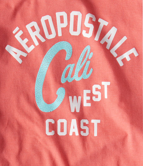 Aeropostale West Coast Logo Graphic Tee