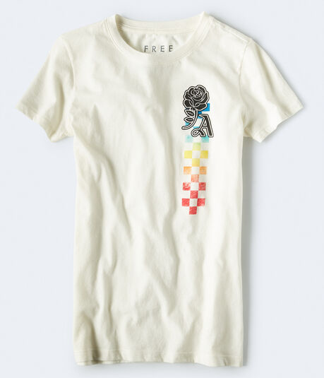 Free State Ombre Checkers Graphic Tee