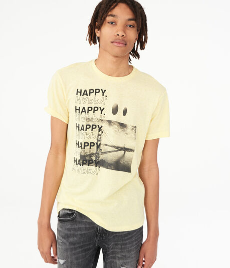 Happy Happy Graphic Tee