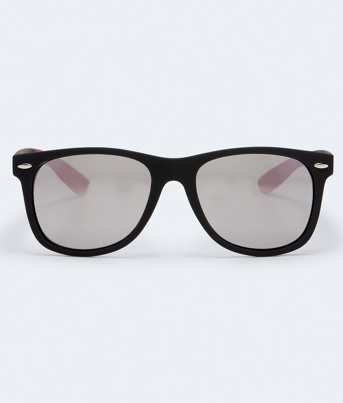Ombre Arm Mirrored Waymax Sunglasses