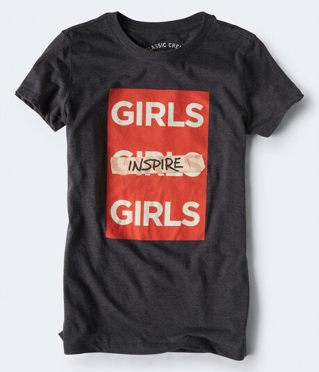 Girls Inspire Girls Graphic Tee