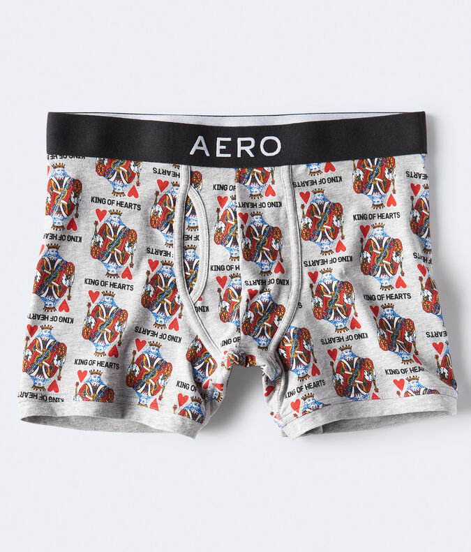 King of Hearts Knit Boxer Briefs