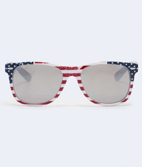 Mirrored Americana Sunglasses