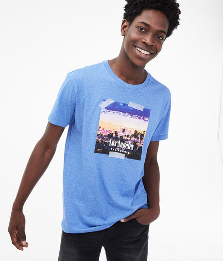 Los Angeles Postcard Graphic Tee