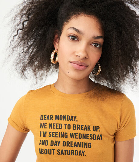 Free State Dear Monday Graphic Tee