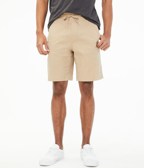 "Classic 9"" Stretch Jogger Shorts"