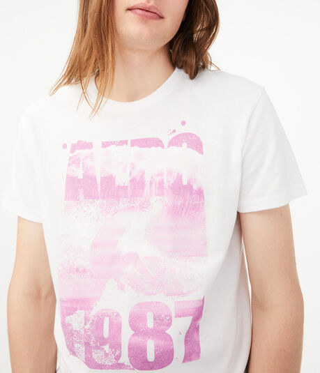 Aero 1987 Surfer Graphic Tee