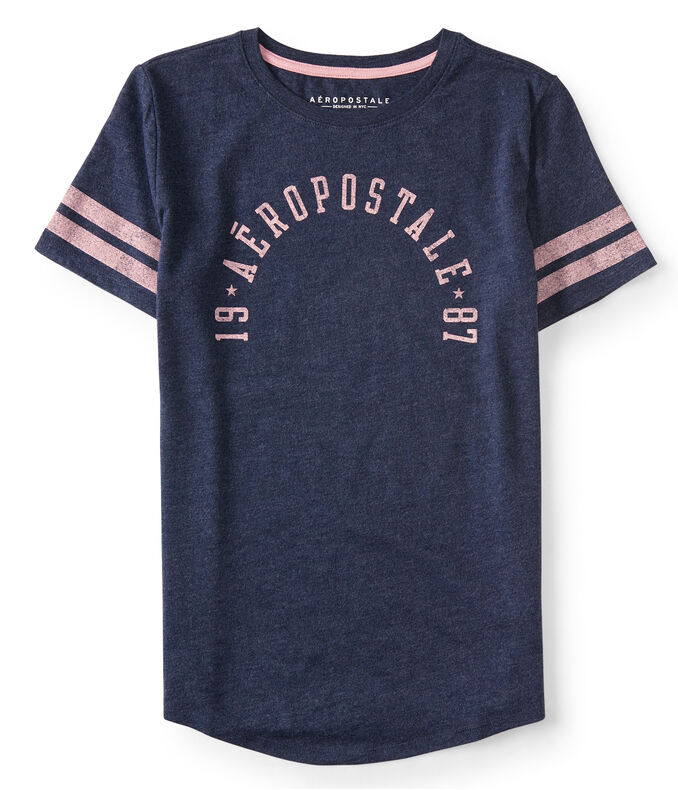 19 Aeropostale 87 Arch Graphic Tee